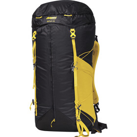 Bergans Helium 55 Mochila, solid charcoal/waxed yellow